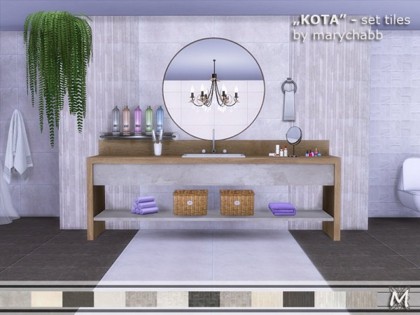 The Sims Resource: KOTA   Set Tiles by marychabb