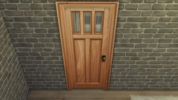 La Luna Rossa Sims: Over designed Window Door