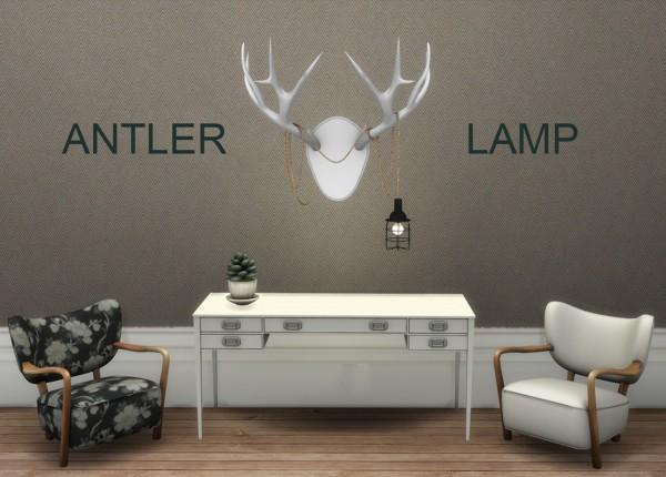 Leo 4 Sims: Antler Lamp