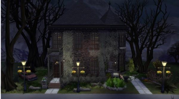 Models Sims 4: Abandoned House 1