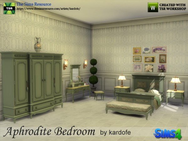 The Sims Resource: Aphrodite Bedroom by kardofe