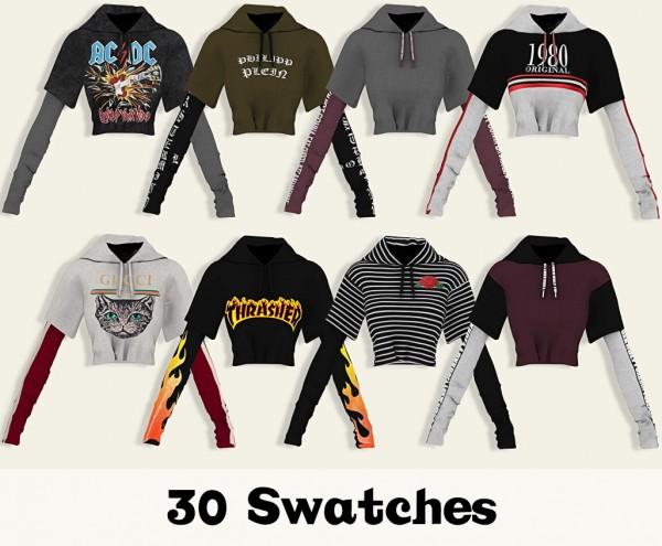 LumySims: Syana Tucked in Sweater