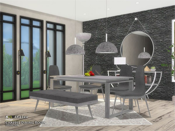The Sims Resource: Chappel Dining Room by ArtVitalex