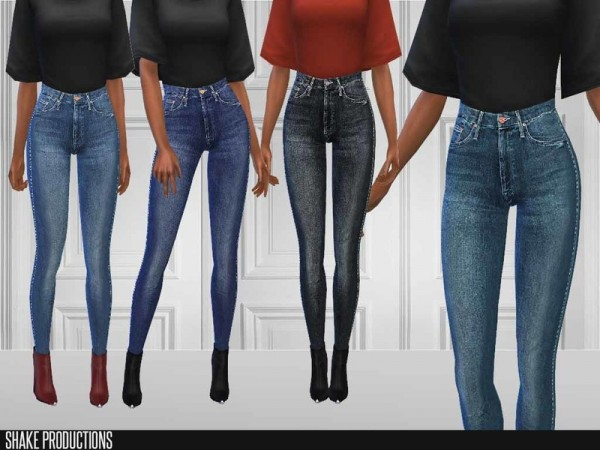 The Sims Resource: Jeans 178 by ShakeProductions