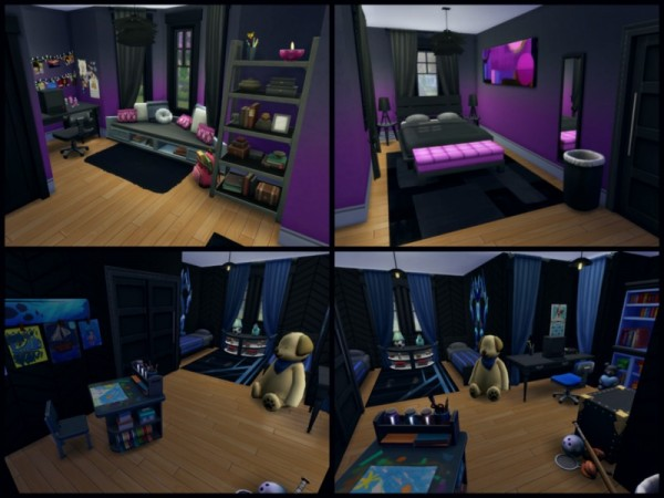 The Sims Resource: Darkside House by sparky