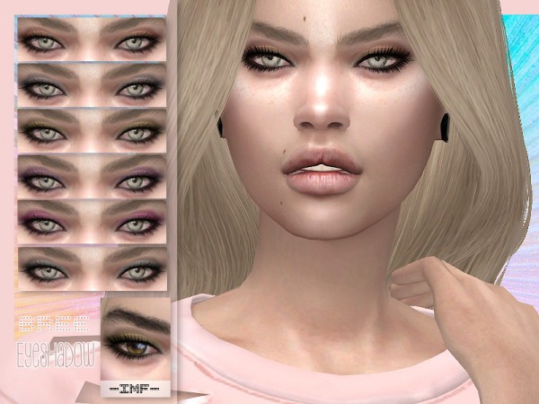 The Sims Resource: Bree Eyeshadow N.58 by IzzieMcFire