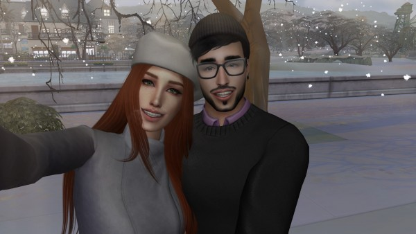 The Sims 4 ID: Soulmate Selfie Pose Pack   Set 5