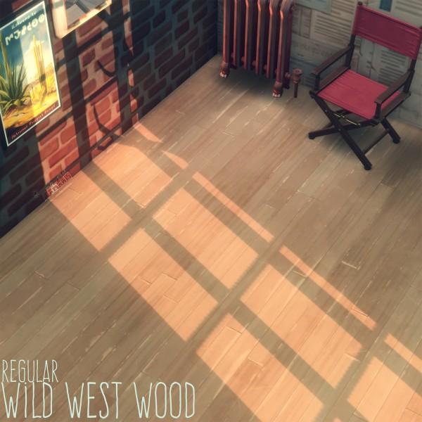 Picture Amoebae: Wild West Wood Floors