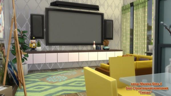 Sims 3 by Mulena: House Chaus No CC