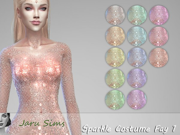 The Sims Resource: Sparkle Costume Fay 1 by Jaru Sims