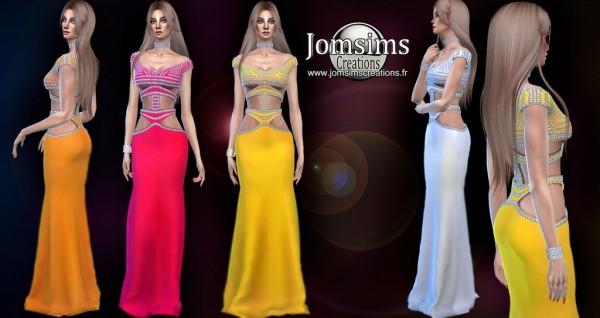 Jom Sims Creations: Slumani Dress