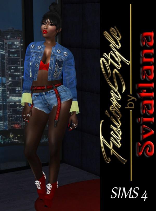 Fusion Style: Denim jacket by Sviatlana