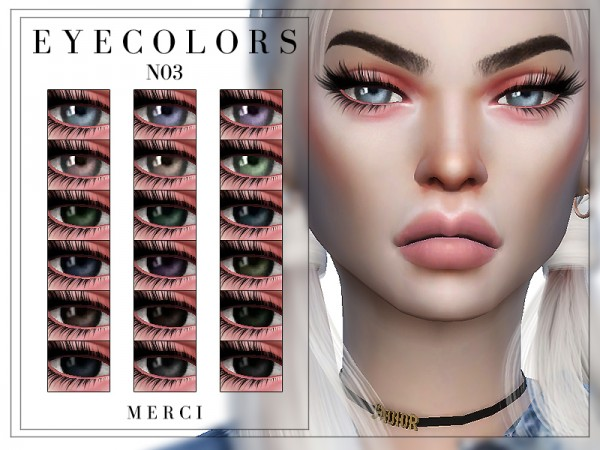 The Sims Resource: Eyecolors N03 by Merci