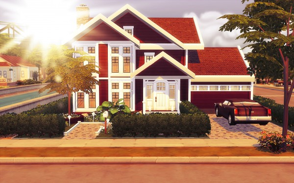 MSQ Sims: Barly Family House