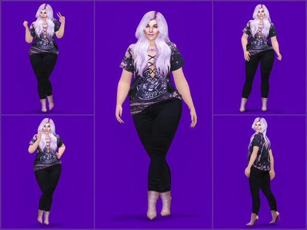 The Sims Resource: Pose Pack 4 by KatVerseCC