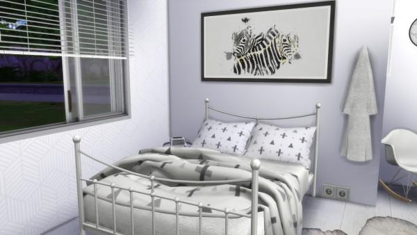 Models Sims 4: White Bedroom