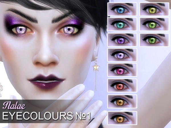 Mod The Sims: Eyecolors No.1 by Nalae