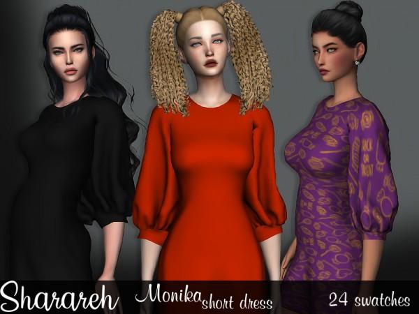 The Sims Resource: Monika Dress by Sharareh