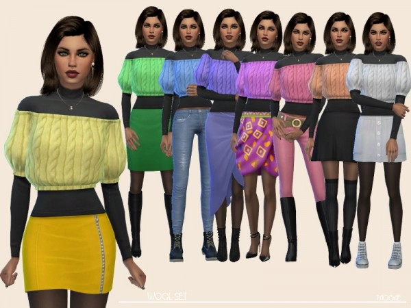 The Sims Resource: Wool Set by Paogae