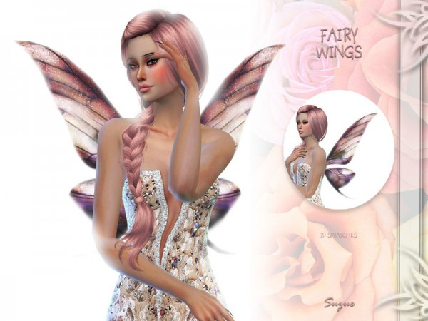 The Sims Resource: Fairy Wings by Suzue