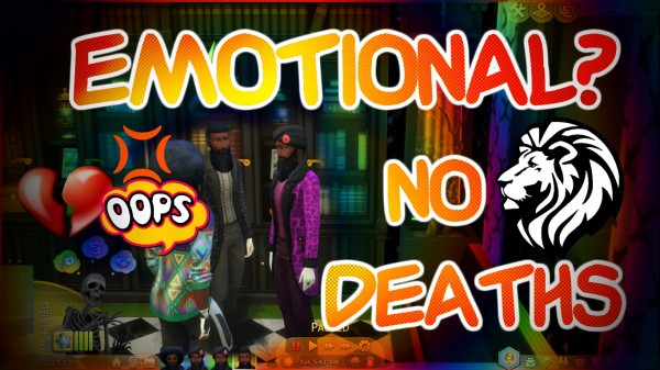 Mod The Sims: No Emotional Deaths by thril1