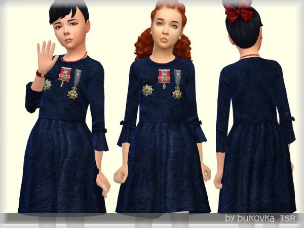 The Sims Resource: Dress Velvet by bukovka