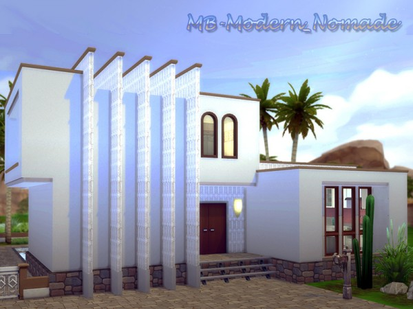 The Sims Resource: Modern Nomade House by matomibotaki