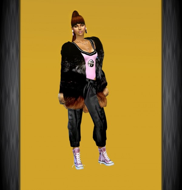 Dreaming 4 Sims: Activewear   Warm it up jacket