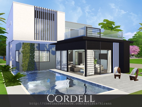 The Sims Resource: Cordell House by Rirann