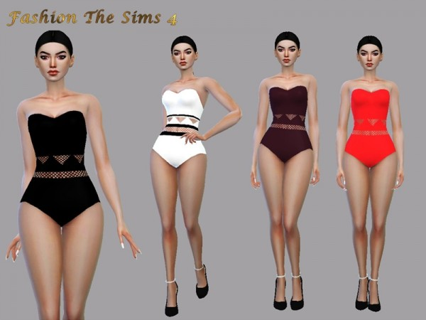 The Sims Resource: Swimsuit Lunna by LYLLYAN