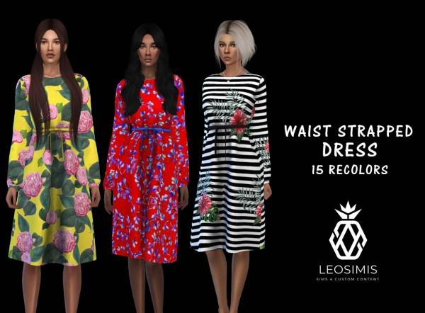 Leo 4 Sims: Waist dress recolored