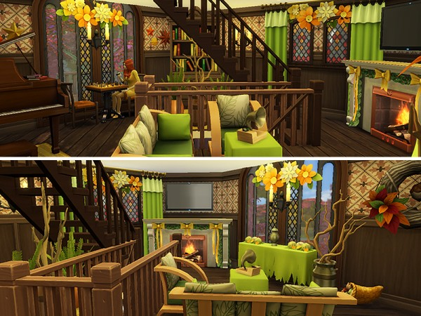 The Sims Resource: Autumns Call house by dasie2