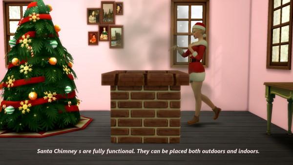 Mod The Sims: Santa Chimney by Snowhaze