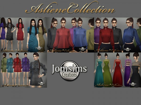 The Sims Resource: Asliene dress 3 by jomsims