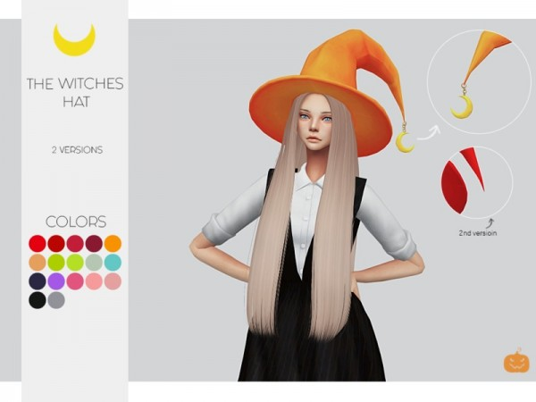 The Sims Resource: The Witches Hat 2 vers by Kalewa a