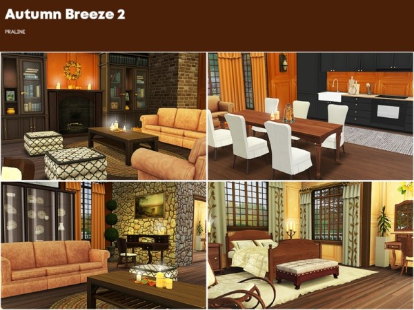 The Sims Resource: Autumn Breeze House 2 by Pralinesims