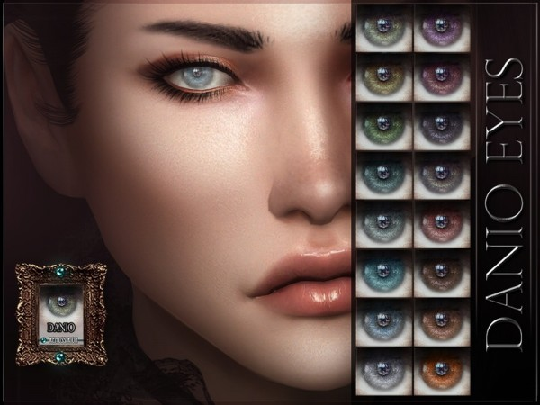 The Sims Resource: Danio Eyes by RemusSirion