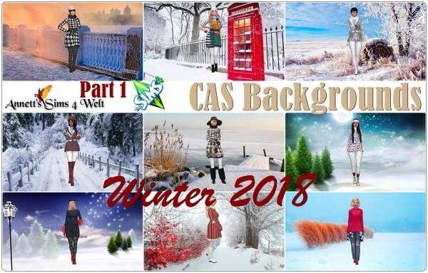 Annett`s Sims 4 Welt: CAS Backgrounds   Winter 2018   Part 1