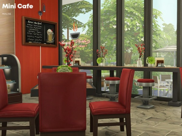 The Sims Resource: Mini Cafe by Pralinesims
