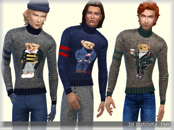 The Sims Resource: Turtleneck Sweater by bukovka