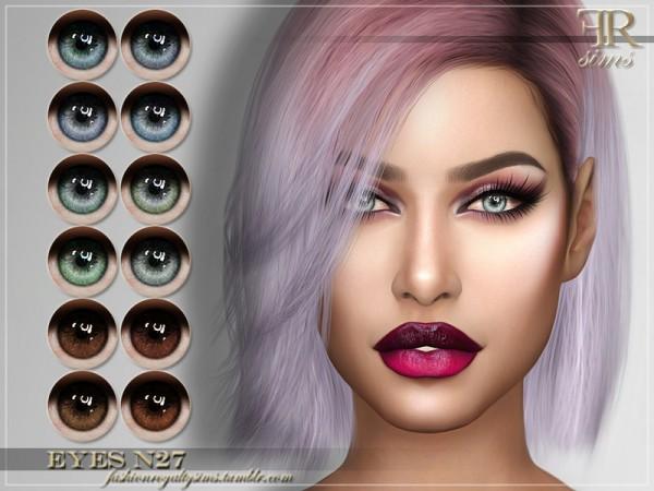 The Sims Resource: Eyes N27 by FashionRoyaltySims