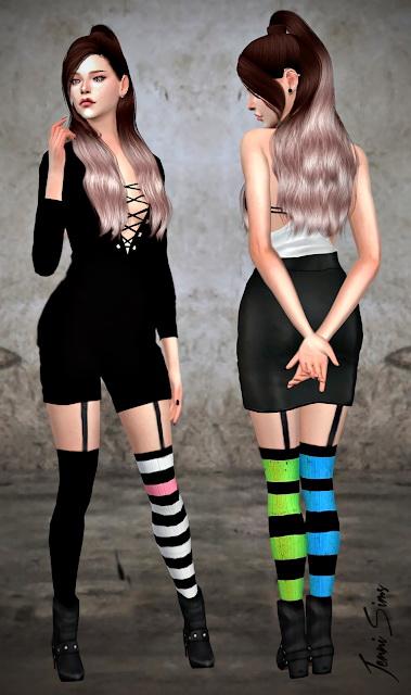 Jenni Sims: Tights Socks Dynamic