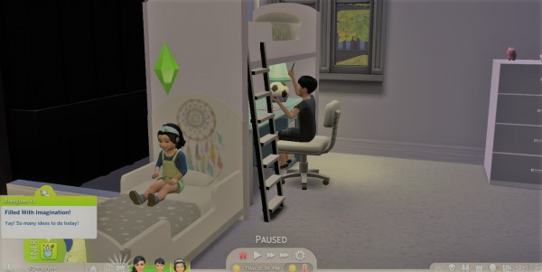 Mod The Sims: Creative Trait for Toddlers by UltimateGamer89