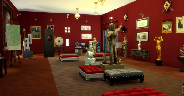 Luniversims: Simenheim Museum by Coco Simy