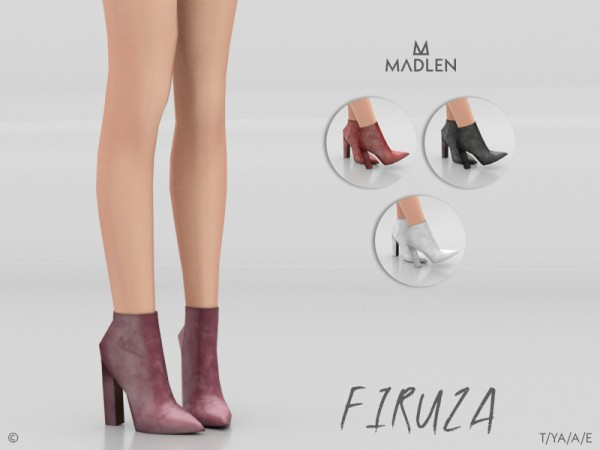 The Sims Resource: Madlen Firuza Boots by MJ95
