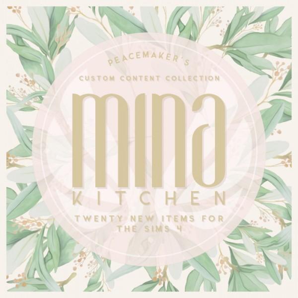 Kitchen Table Kitsilano: Simsational Designs: Mina Kitchen Contemporary Shaker