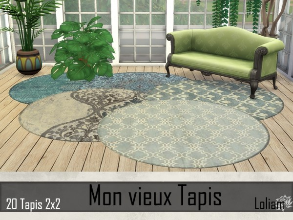 Sims Artists: My old carpet