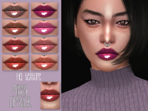 The Sims Resource: Missy Lipstick N.135 by IzzieMcFire