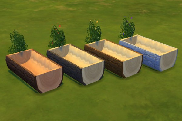 Blackys Sims 4 Zoo: Outdoor water channel by ladyatir