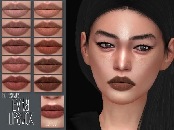 The Sims Resource: Evita Lipstick N.132 by IzzieMcFire